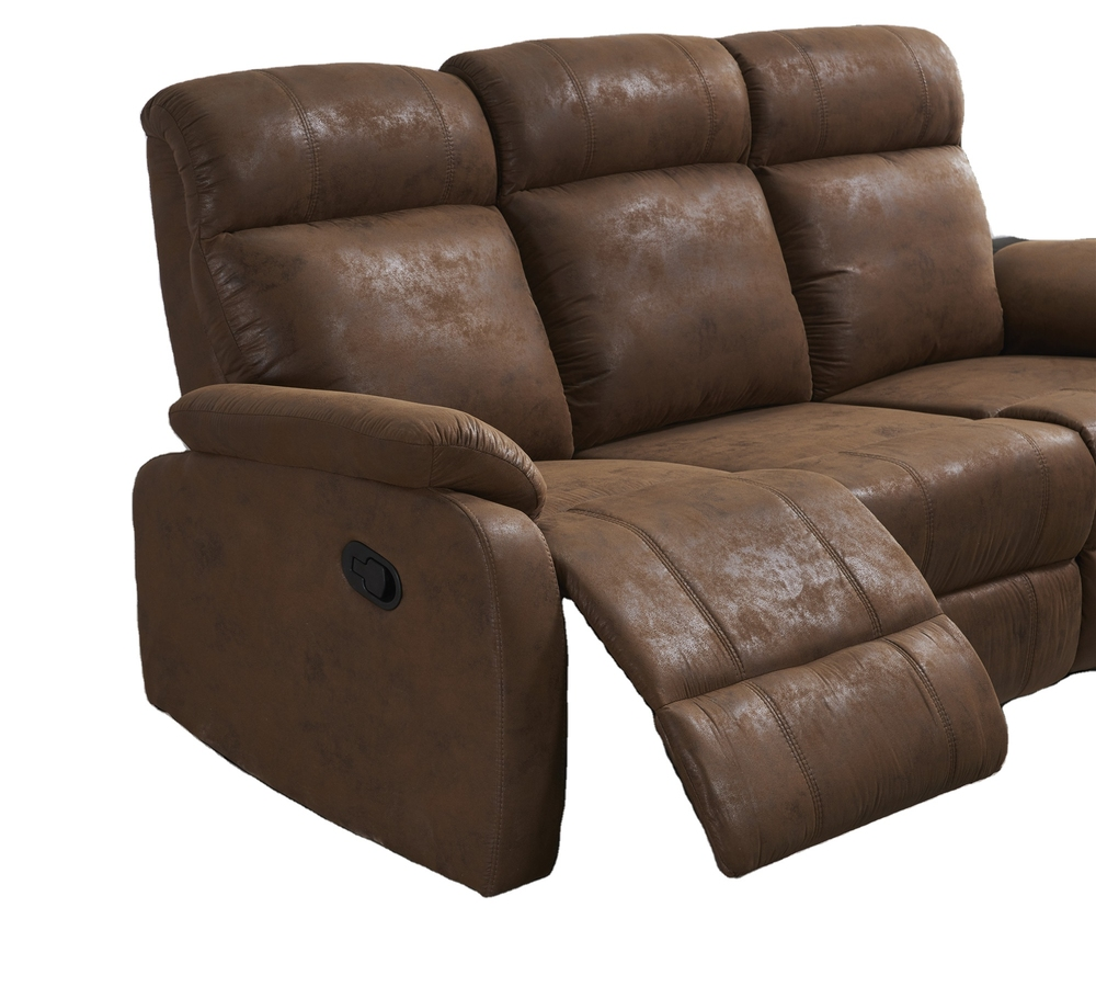 2021 living room furniture newest Fabric manual recliners