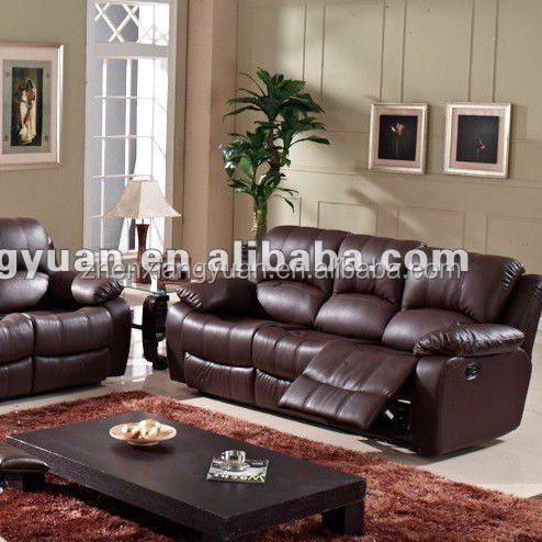 2018 Living room Sofa reclining motion sofa genuine sofa