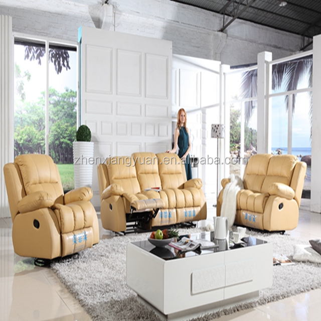 Leather Recliner Sofa For Living Room