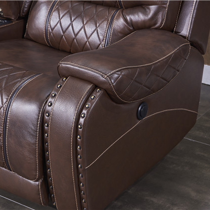 2020 furniture Electric Power Recliner 3seater with air leather