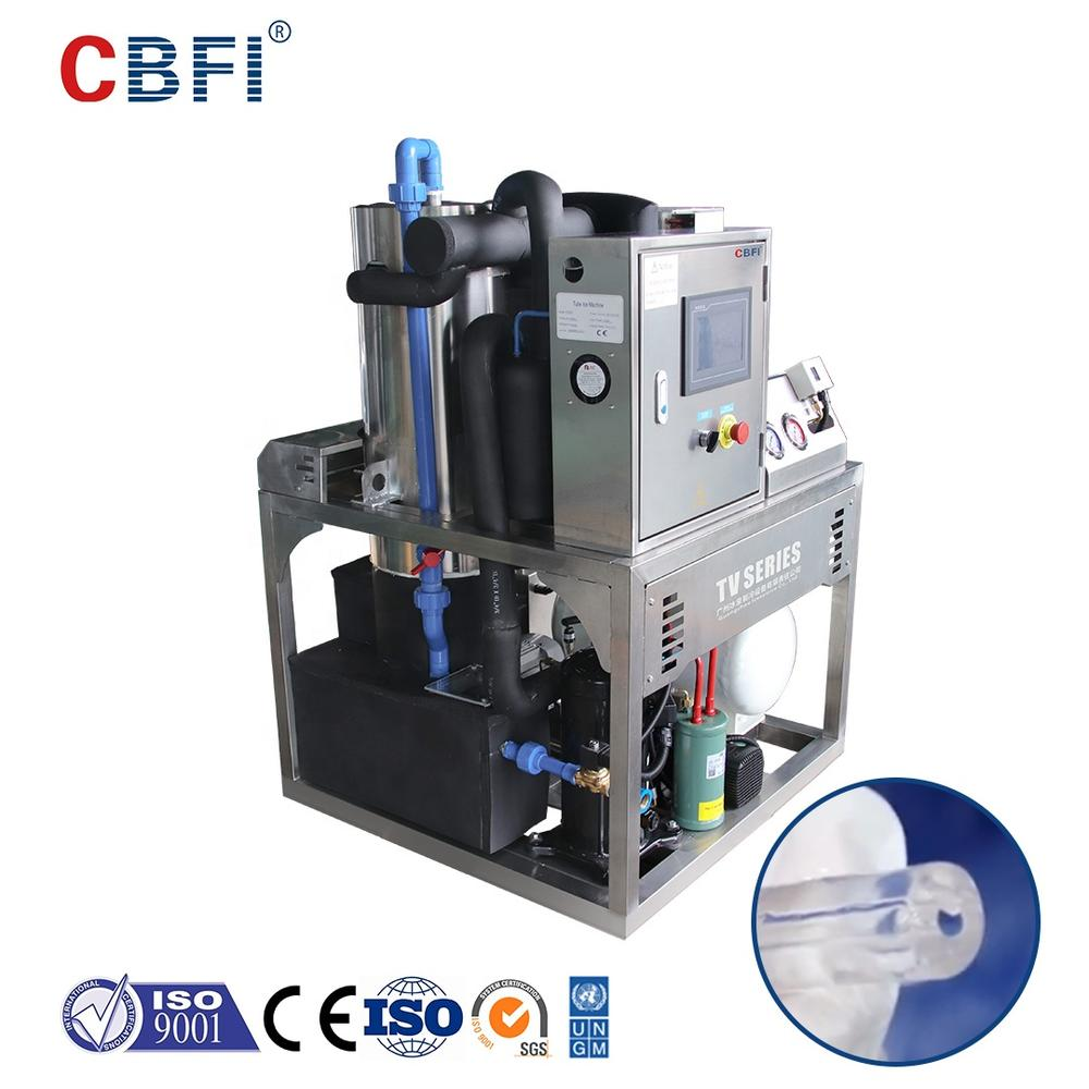 CBFI Commercial 350kgs per day Tube Ice Maker TV3.5 for sale