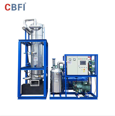 Fully automatic 10 tons per day Tube Ice Machine Philippines for cold drinks