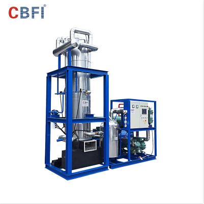 CBFI TV100 Tube Ice Machine with Germany Bitzer compressor In Djibouti 10 T/24h