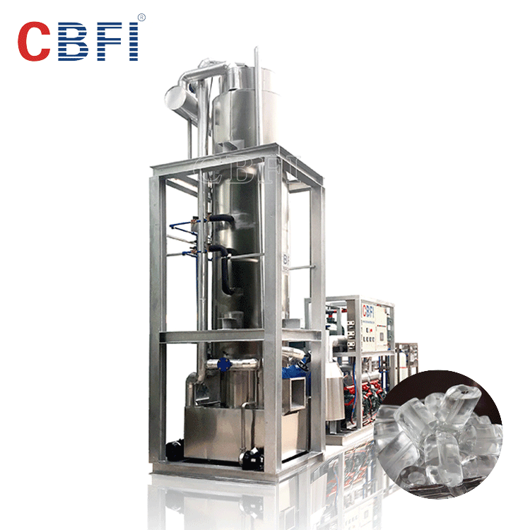 Tube ice machine for small manufacturing plant in Guangzhou