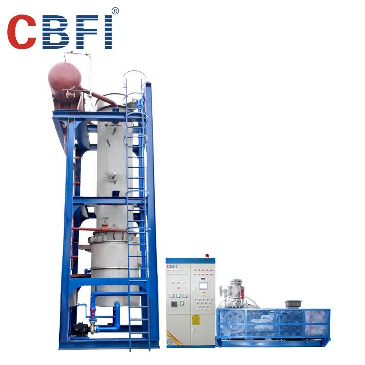 Low energy consumption and environmental protection Ammonia tube ice machine AT60