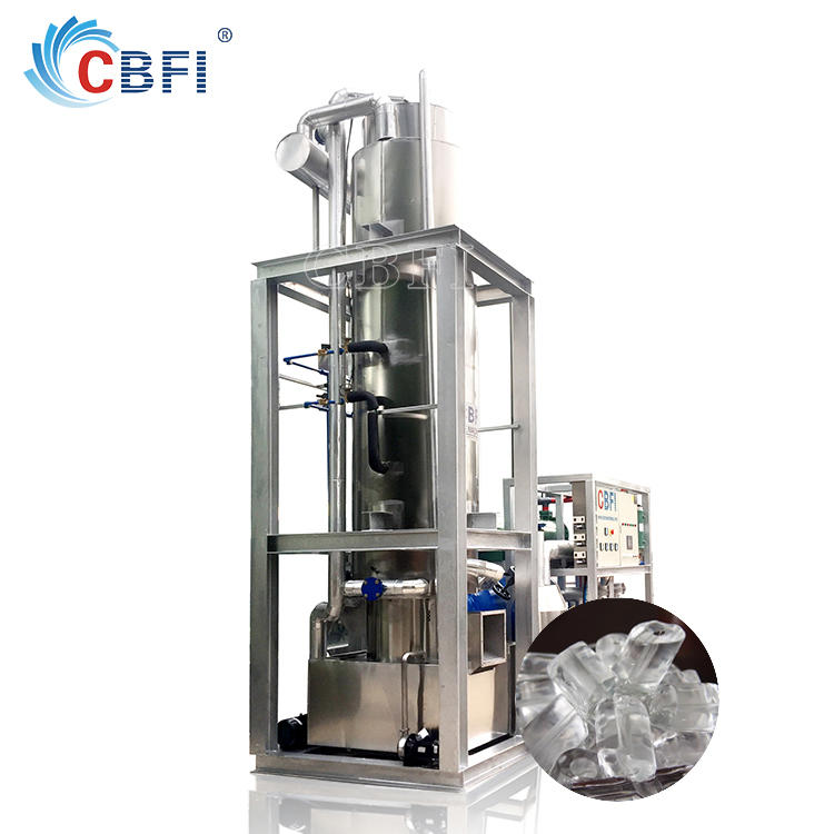 Commercial 1-30 tons Tube Ice Making Machine