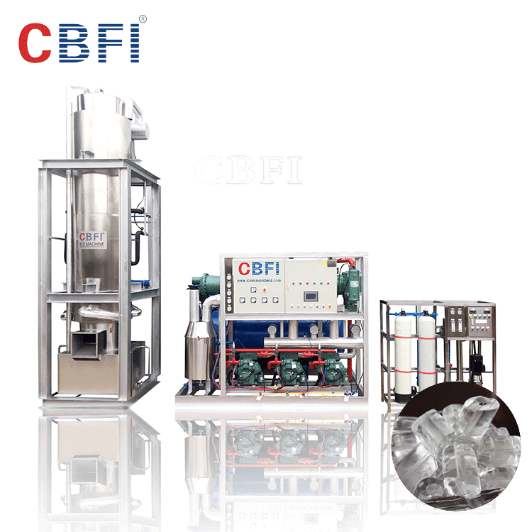 China commercial tube ice maker machine for drinking