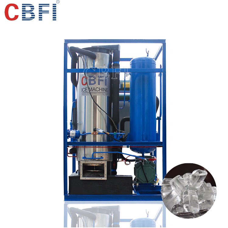 Edible ice tube machine for beer,drinks,wines cooling with good price