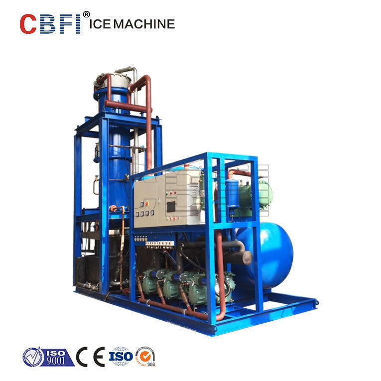 30 tons Tube Ice making Machine with good quality 28 mm diameter