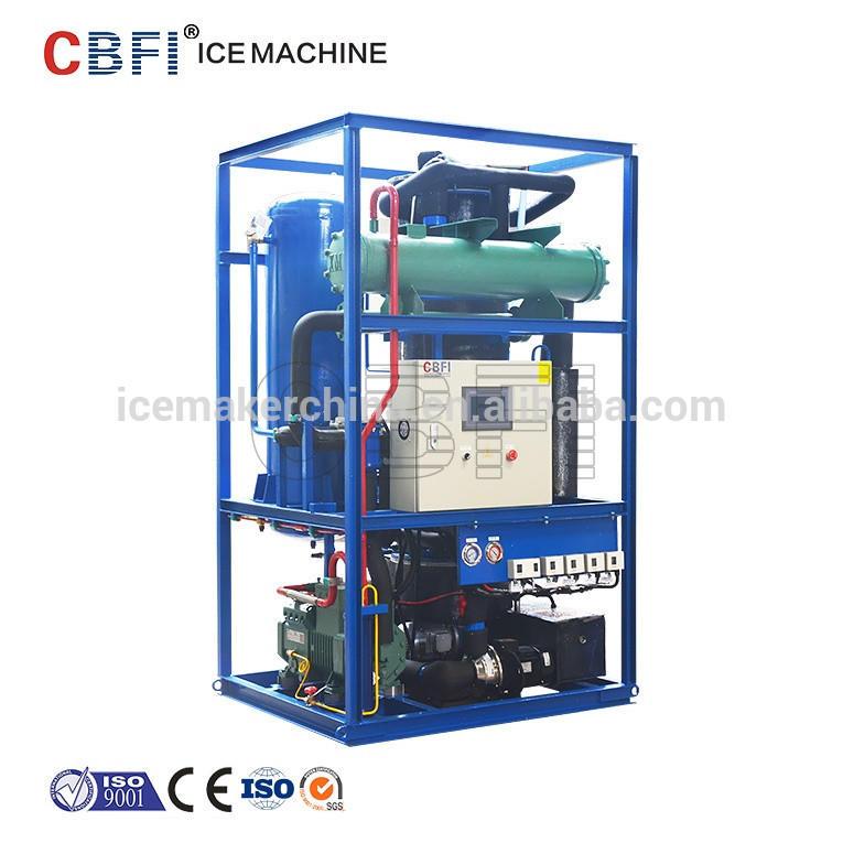 3000 kg Professional ice tube plant best price