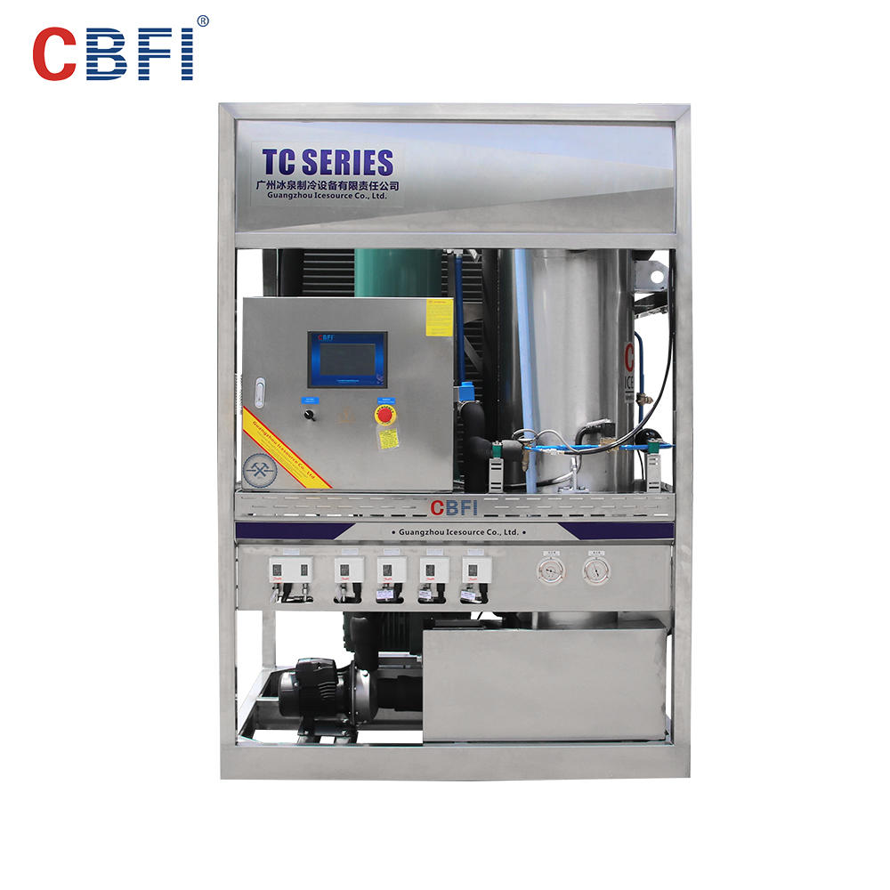 CBFI High Quality Edible Ice Tube Maker Machine Price in Africa TV30