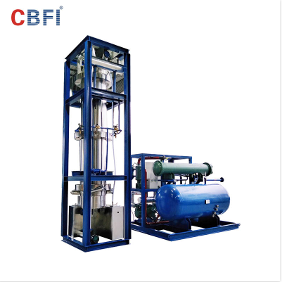 China 2 tons Air Cooling Best Quality Tube Ice Machine Price for Cold Drinks