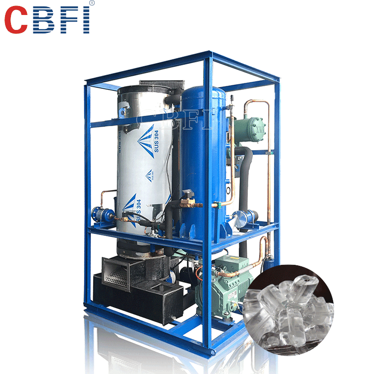 Food grade ice making machine tube ice maker and ice factory machine for profitable projects