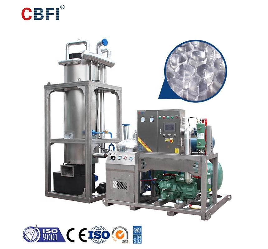 CE approved 10 tonnes ice making machine maker Energy Saving Ice Tube Machine for Drinks