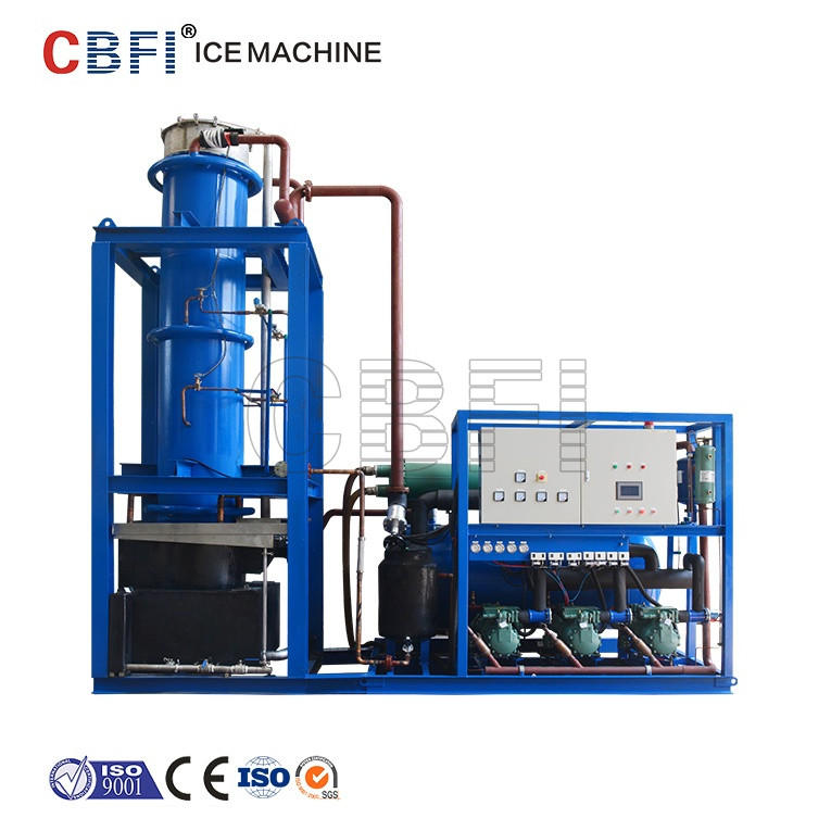 China manufacturer of ice tube machine for Phllippines, Malaysia, Cambodia, Mexico