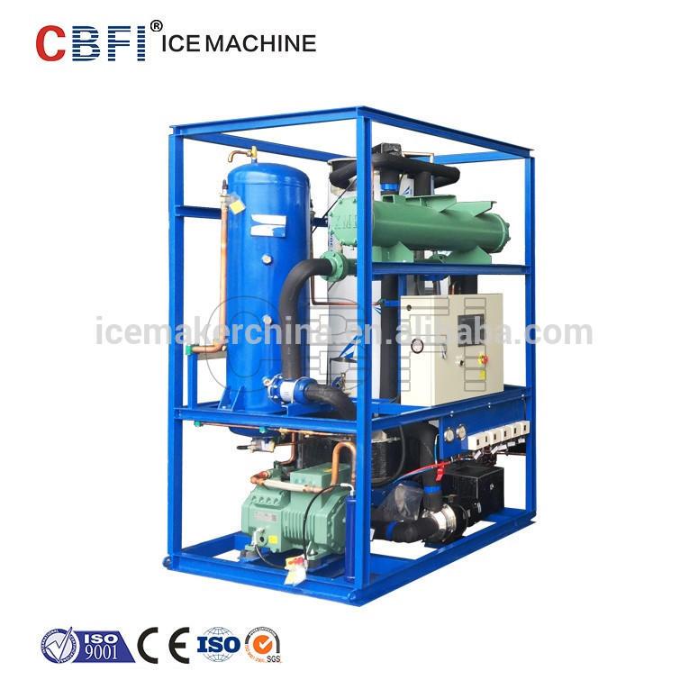 transparent good shape tube ice for hotel machine 3 tons