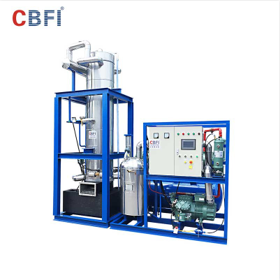 CBFI TV100 high quality tube ice making machine for ice business