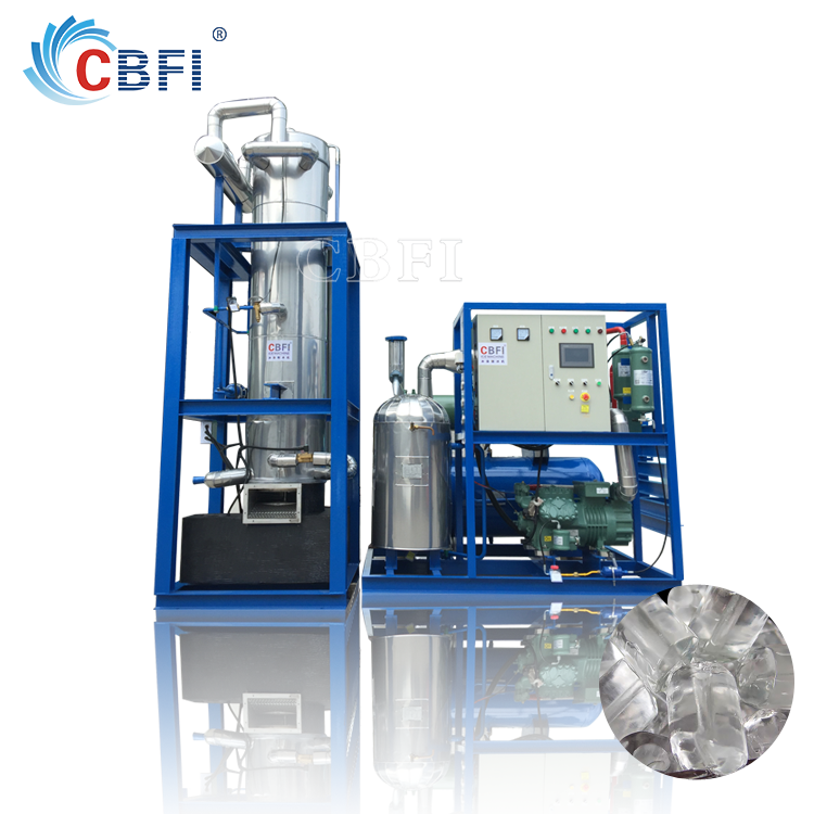commercial use tube ice machine price