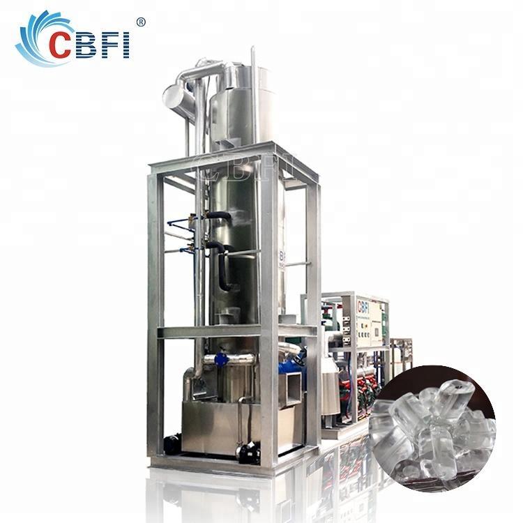 Edible ice maker ice tube machine for restaurant bar hotel ice factory