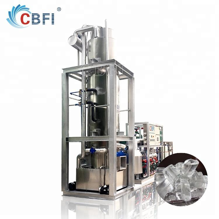 Edible ice maker ice tube machine for restaurant bar hotel ice factory