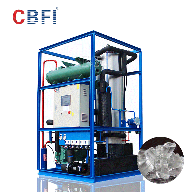 CBFI commercial use tube ice maker machine