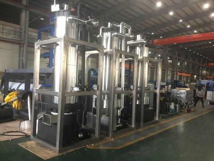 3 Sets TV100 10 tons Tube Ice Machine Project in Poland