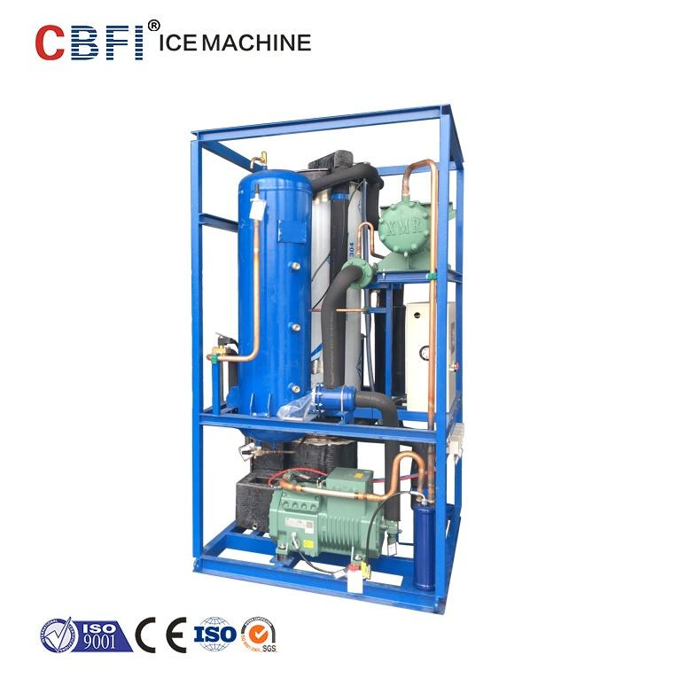 Industrial tube ice machine&tube ice maker installed in Malaysia