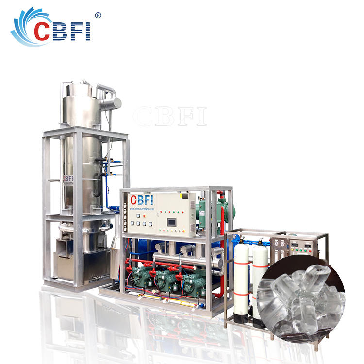 TV 300 Commercial used Tube Ice Machine TV300 for Ice Factory