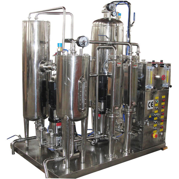 Automatic Carbonated Drink CO2 Mixer Carboned Beverage Mixing Machine Carbonator
