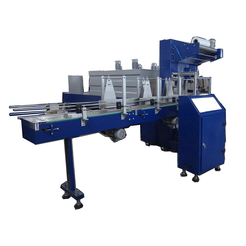Power 20KW air pressure 0.6-0.8Mpa bottle cap shrink wrap machine