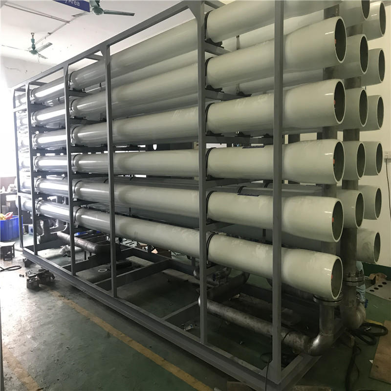 reverse osmosis desalination of seawater plant system