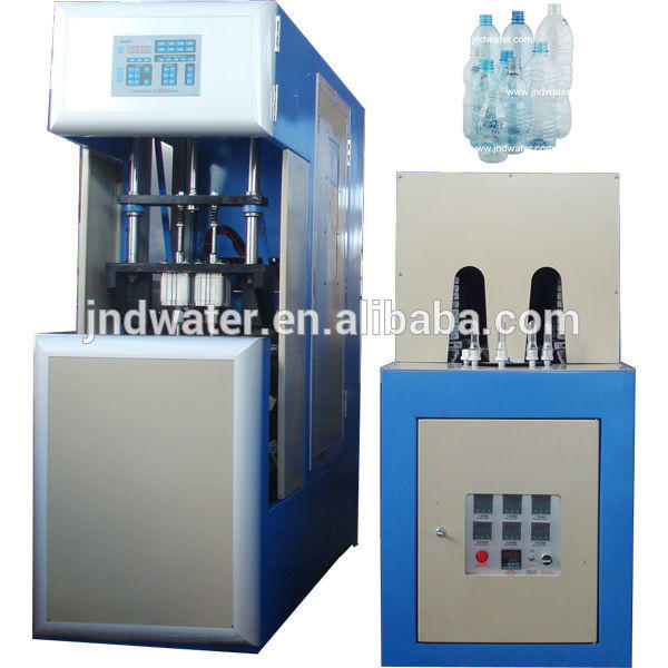Semi-auto plastic drinking water bottle making machine blowing machine