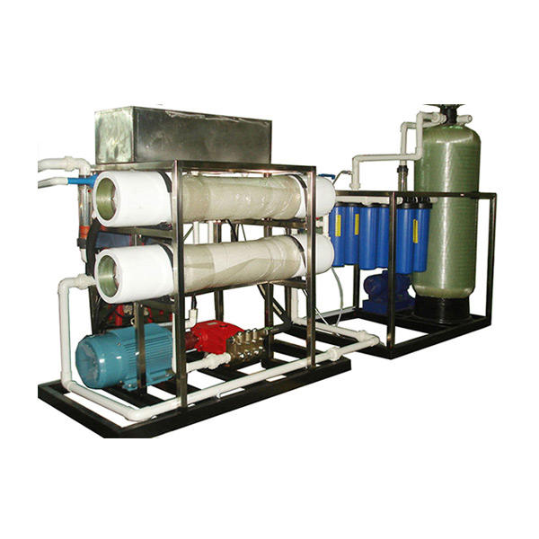 Large volume flush sea water desalination equipment