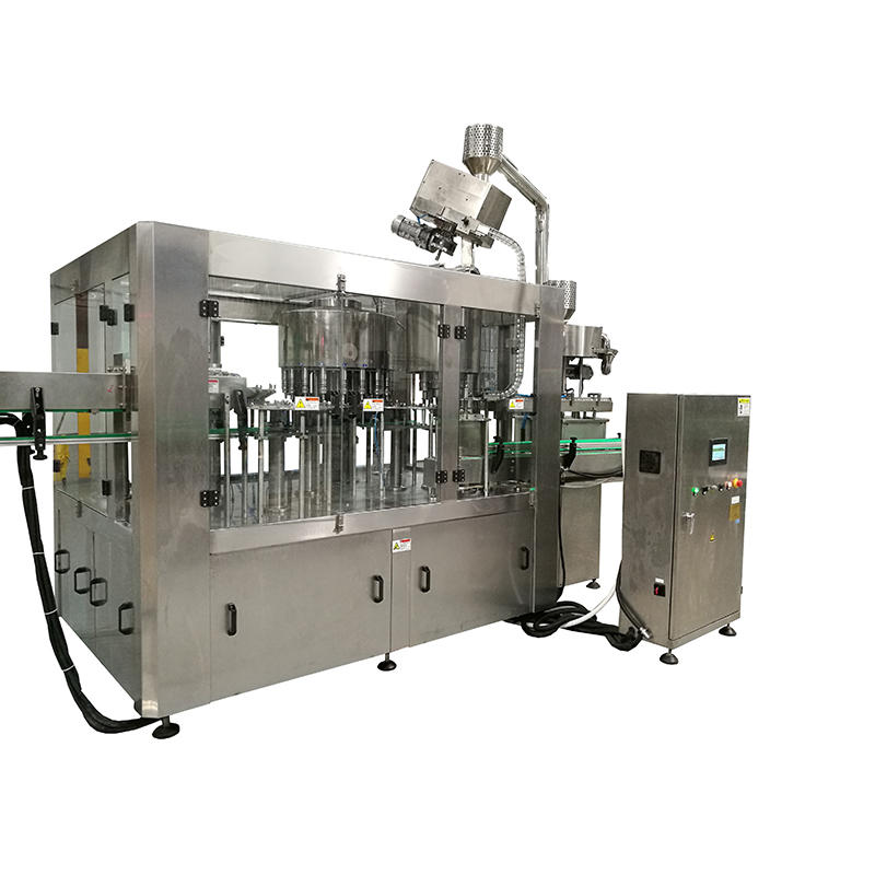 plastic bottle pure water washing filling capping 4head bottling machine automatic