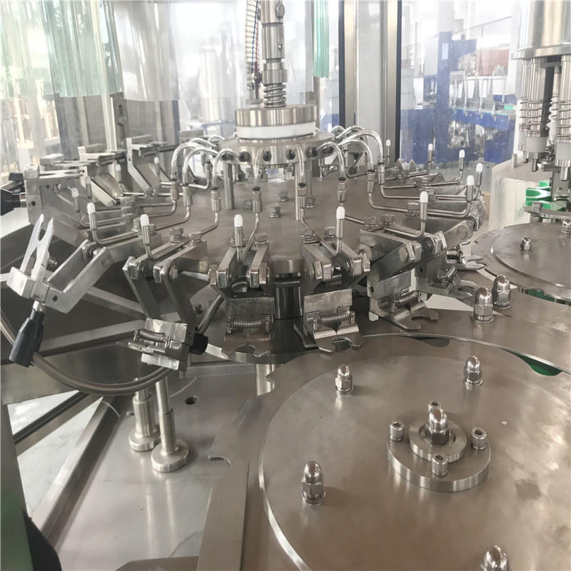 automatic plastic bottle pure water washing filling capping machine equipment &non-carbonated filling machine