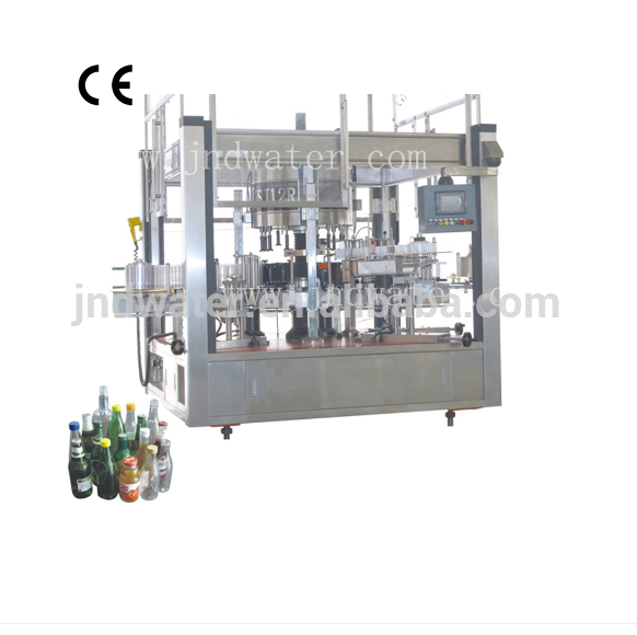 Sticker automatic round bottle labeling machine