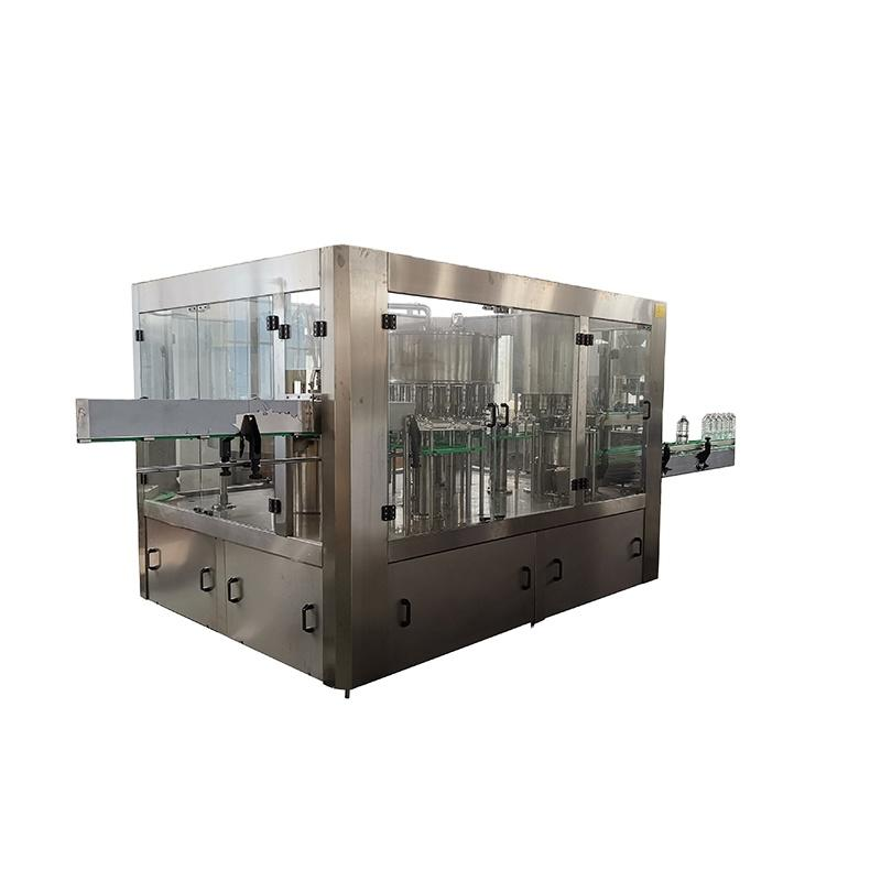 automatic small scale monoblock plastic bottle pure drinking water washing filling capping machine