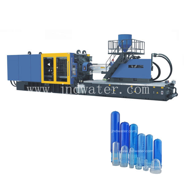 heater power 16.5KW automatic plastic bottle mould injection molding machine