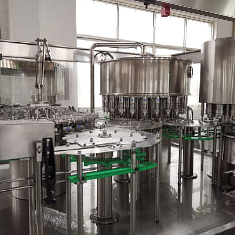automatic 6000-8000BPH small monoblock mineral water bottle filling and capping machine