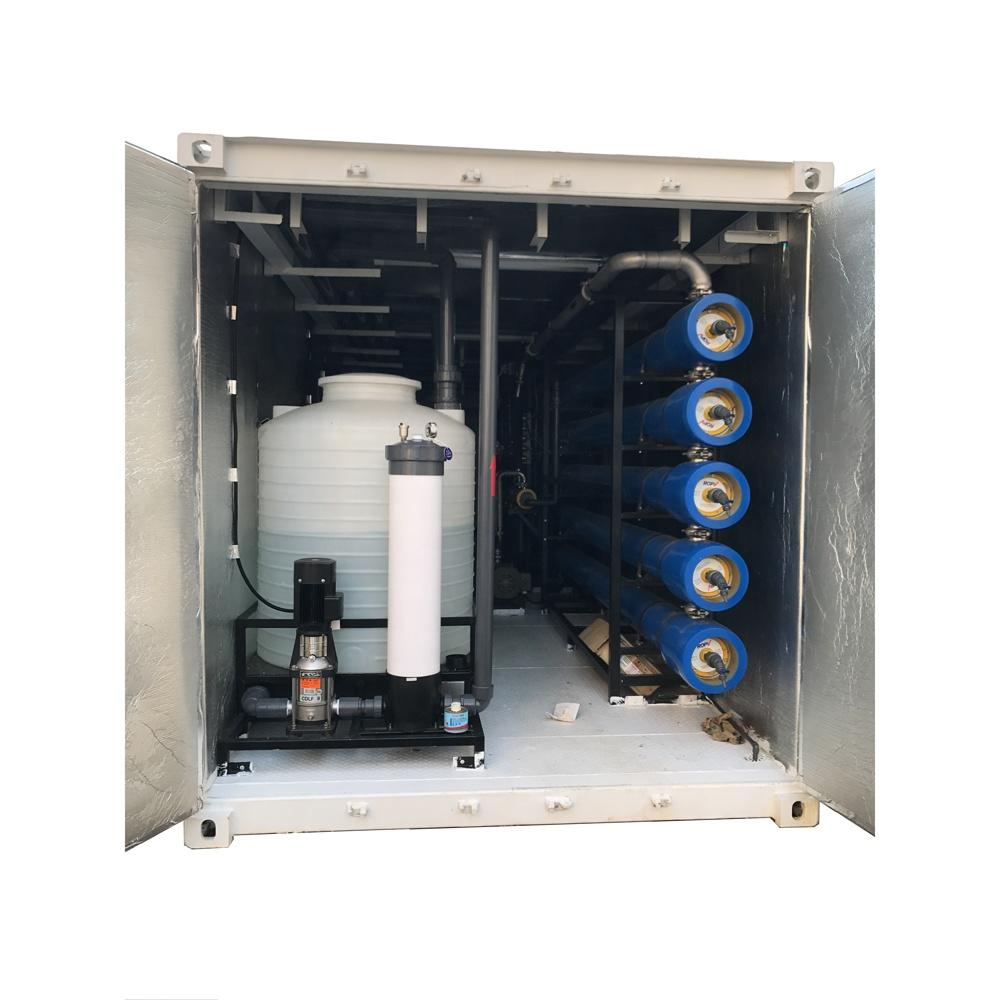 Wholesale operating pressure 4 ~ 6.5Mpa seawater desalination plant in a container