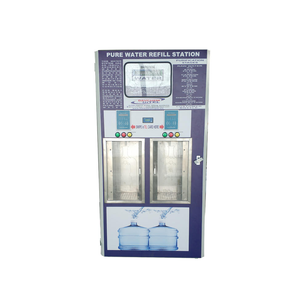 coin automatic mineral pure drinking water ice vending machine price
