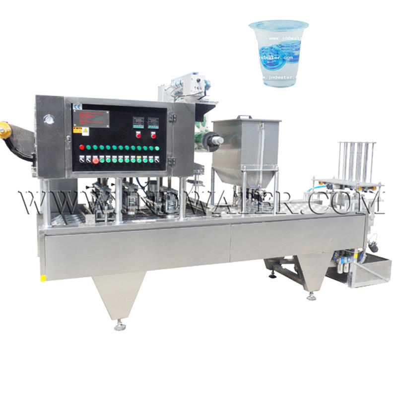 Cup filling ang Sealing machine