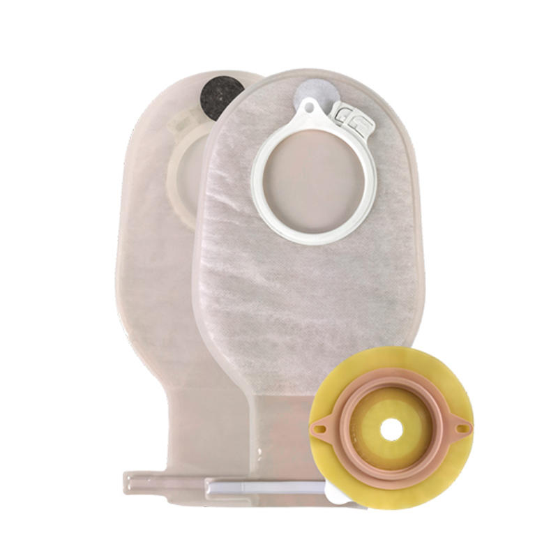 Stoma Bag Colostomy Pouch Two-Piece Pouch Of Stoma Colostomy Bag Care