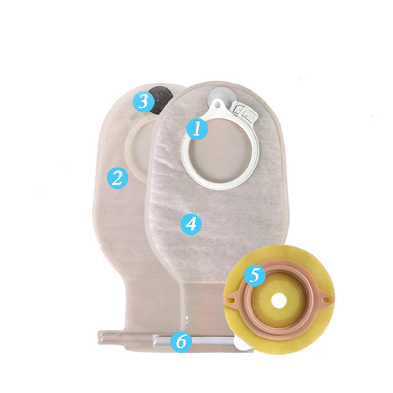 CELECARE Ostomy Pouching System Stoma Ostomy Bag With Pouch