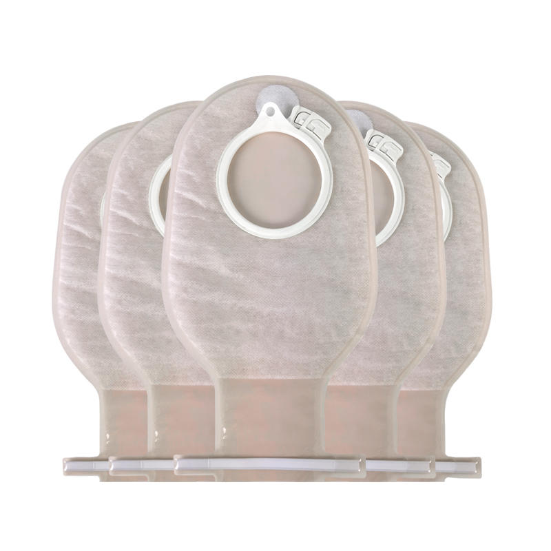 Stoma Bag Colostomy Pouch Two-Piece One Time Colostomy Bags