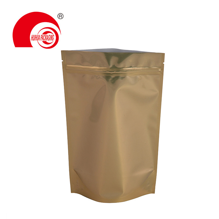 Wholesale Ziplock Stand Up Packaging Pouch Aluminum Foil Laminated Plastic Doypack
