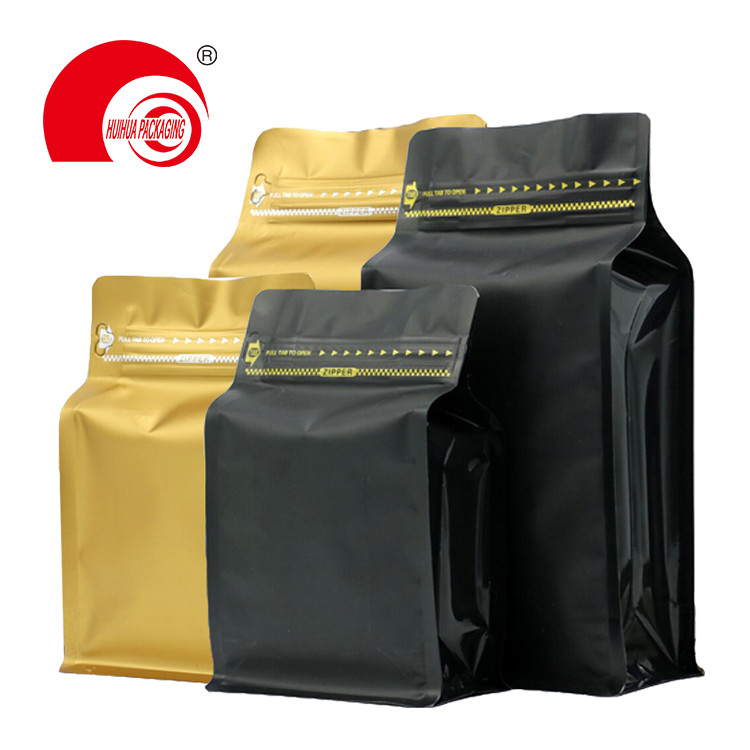 product-Huihua-Food Grade High Barrier Packaging Bag Dry Fruit Zip Lock Flat Box Bottom Pouch-img