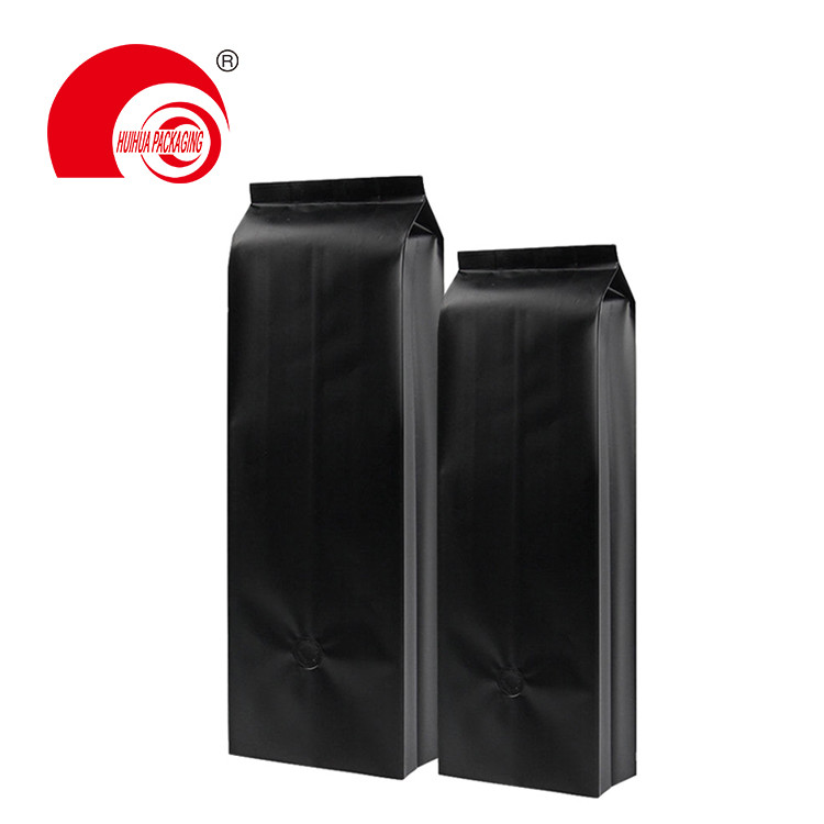 product-Huihua-Hot Sell Quad Seal Side Gusset Pouch Laminated Plastic Packaging Bag for Coffee Tea S