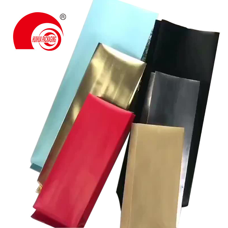 High Quality Heat Sealing Matte Finish Side Gusset Pouch with One Way Degassing Valve