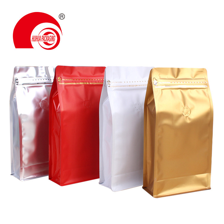 Resealable Silver Aluminum Foil Flat Bottom with Ziplock for Snack Dry Fruit Cookie Packaging